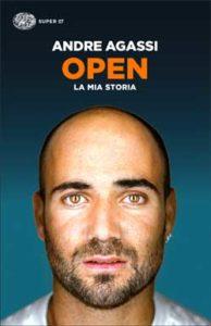 Copertina del libro Open (versione italiana) di Andre Agassi