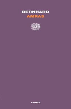 Copertina del libro Amras di Thomas Bernhard