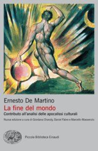 Copertina del libro La fine del mondo di Ernesto De Martino