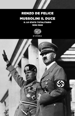 Copertina del libro Mussolini il duce. II di Renzo De Felice