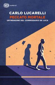 Copertina del libro Peccato mortale di Carlo Lucarelli