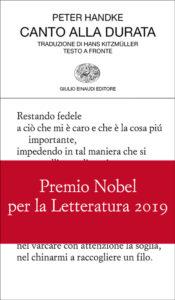 Premio Nobel per la Letteratura 2019 a Peter Handke