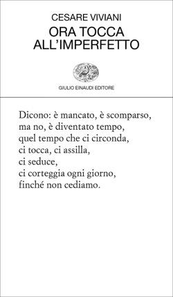 Copertina del libro Ora tocca all'imperfetto di Cesare Viviani