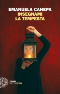 Copertina del libro Insegnami la tempesta di Emanuela Canepa