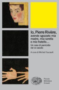 Copertina del libro Io Pierre Rivière, di VV.