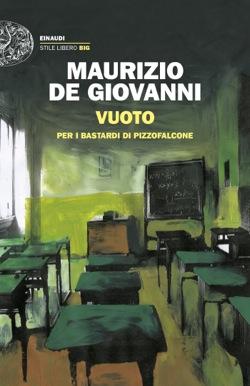 Copertina del libro Vuoto di Maurizio de Giovanni