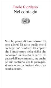 Copertina del libro Nel contagio di Paolo Giordano