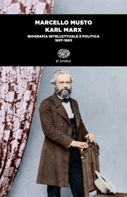 Copertina del libro Karl Marx di Marcello Musto