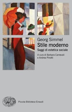 Copertina del libro Stile moderno di Georg Simmel