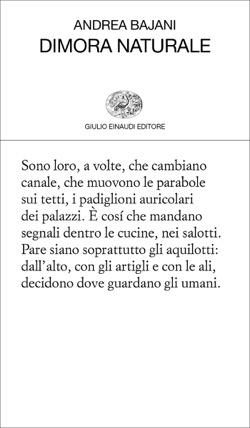 Copertina del libro Dimora naturale di Andrea Bajani