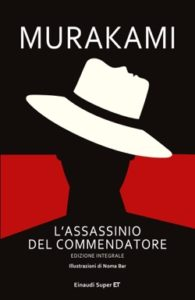 Copertina del libro L'assassinio del Commendatore di Murakami Haruki