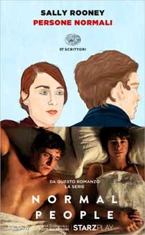 Copertina del libro Persone normali di Sally Rooney