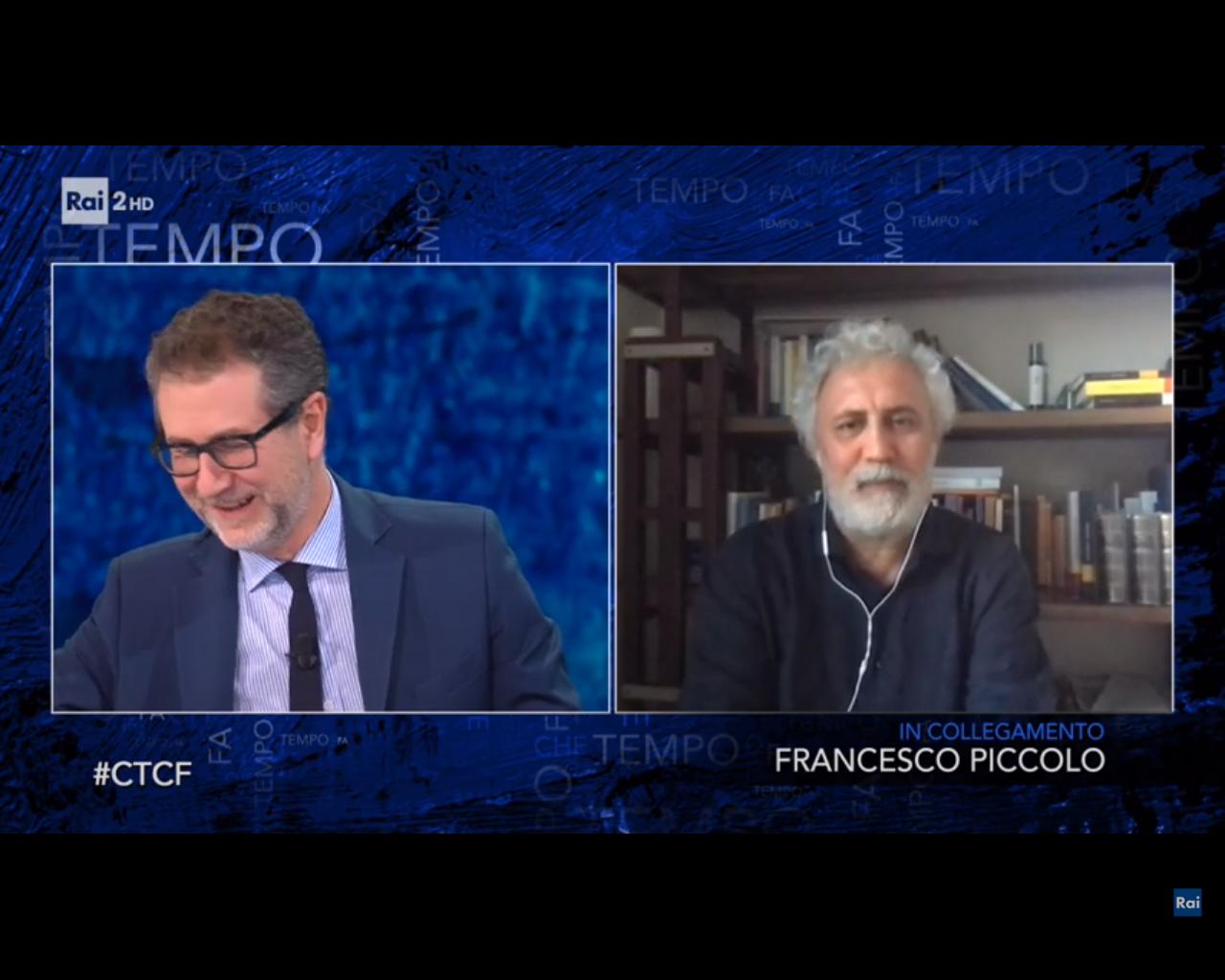 Francesco Piccolo a Che tempo che fa