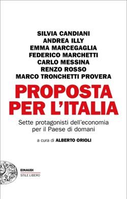 Copertina del libro Proposta per l'Italia