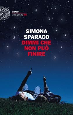 Copertina del libro Dimmi che non può finire di Simona Sparaco