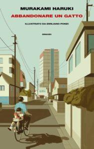 Copertina del libro Abbandonare un gatto di Murakami Haruki