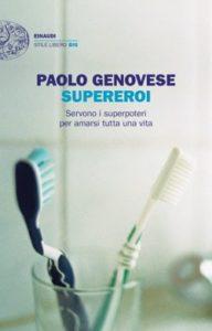 Copertina del libro Supereroi di Paolo Genovese