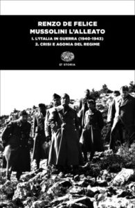 Copertina del libro Mussolini l'alleato. I. Tomo secondo di Renzo De Felice