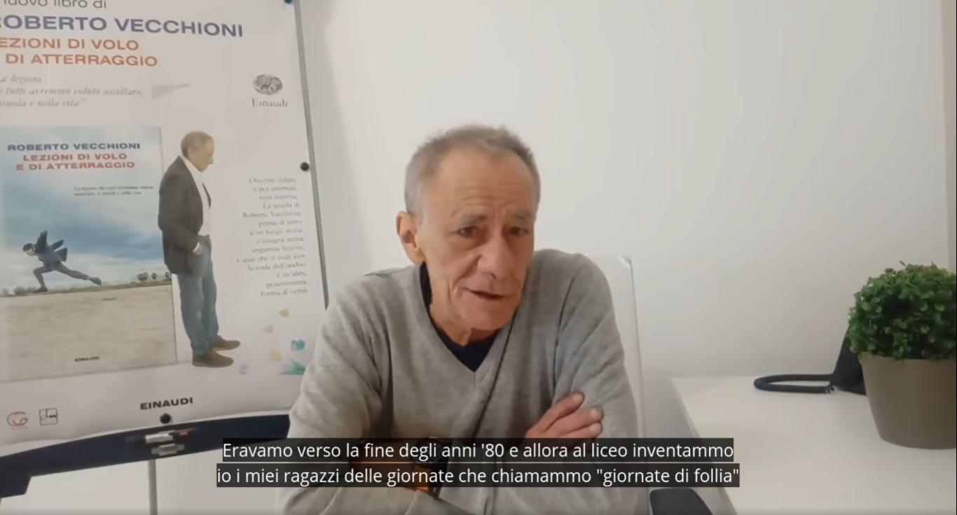 Roberto Vecchioni presenta Lezioni di volo e di atterraggio
