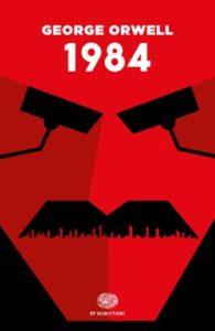 Copertina del libro 1984 di George Orwell
