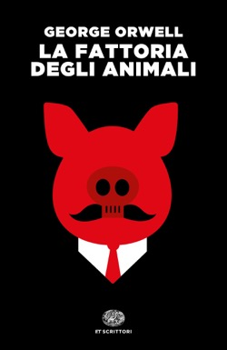 Copertina del libro La fattoria degli animali di George Orwell