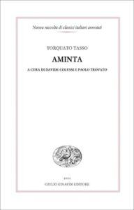 Copertina del libro Aminta di Torquato Tasso