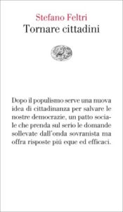 Copertina del libro Tornare cittadini di Stefano Feltri
