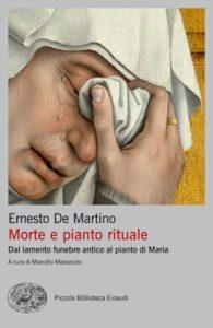 Copertina del libro Morte e pianto rituale di Ernesto De Martino