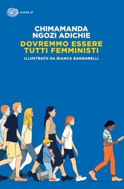 Copertina del libro Dovremmo essere tutti femministi di Chimamanda Ngozi Adichie
