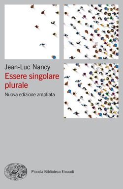 Copertina del libro Essere singolare plurale di Jean-Luc Nancy