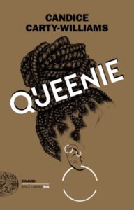 Copertina del libro Queenie di Candice Carty-Williams