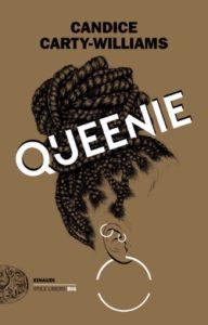 Copertina del libro Queenie di Candice Carty-Williams