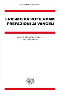 Copertina del libro Prefazioni ai Vangeli di Erasmo da Rotterdam
