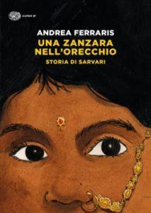 Copertina del libro Una zanzara nell'orecchio di Andrea Ferraris
