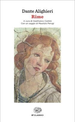 Copertina del libro Rime di Dante Alighieri