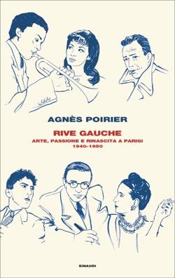 Copertina del libro Rive Gauche di Agnès Poirier