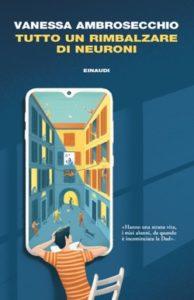 Copertina del libro Tutto un rimbalzare di neuroni di Vanessa Ambrosecchio