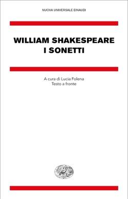 Copertina del libro I sonetti di William Shakespeare