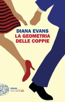 Copertina del libro La geometria delle coppie di Diana Evans