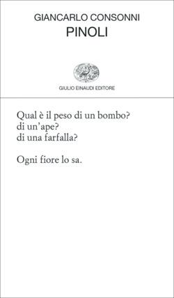 Copertina del libro Pinoli di Giancarlo Consonni
