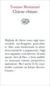 Copertina del libro Chiese chiuse di Tomaso Montanari