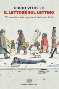 Copertina del libro Il lettore sul lettino di Guido Vitiello