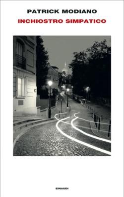 Copertina del libro Inchiostro simpatico di Patrick Modiano