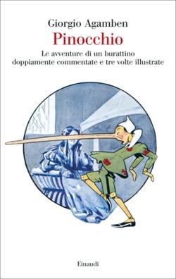 Copertina del libro Pinocchio di Giorgio Agamben
