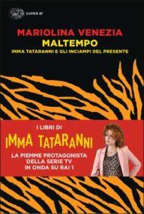 Copertina del libro Maltempo di Mariolina Venezia